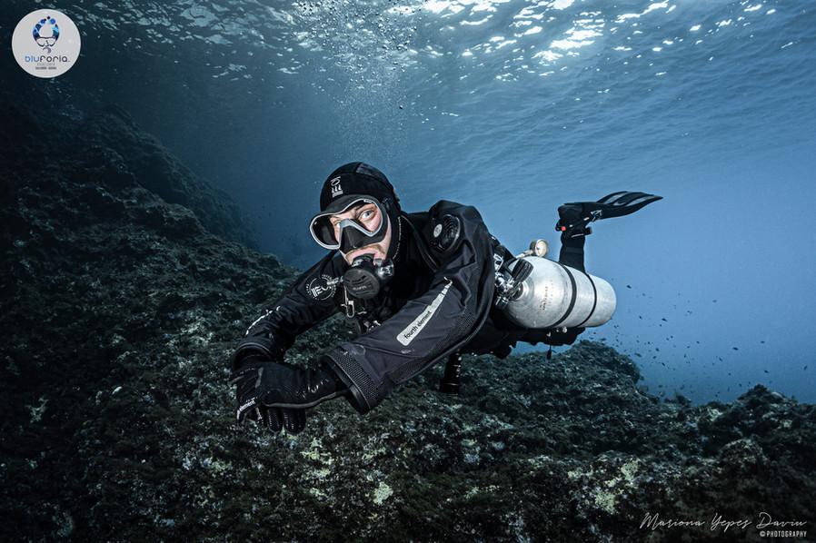 Sam Norton, Tech Diving, Sidemount Divin