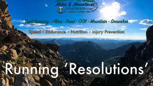 Running 'Resolutions''