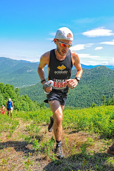Josh at the USA Mountain Championships in 2014.