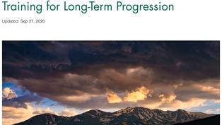 Training for Long-term Progression