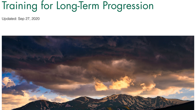 Training for Long-term Progression