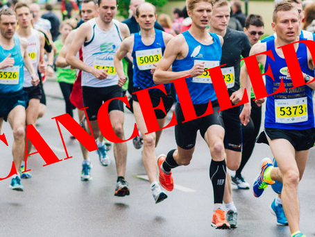 So Your Race Got Cancelled — Now What?