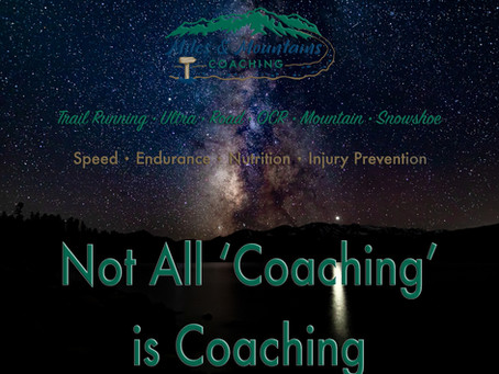 Not All 'Coaching' is Coaching