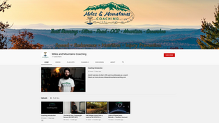 Miles and Mountains Youtube Channel