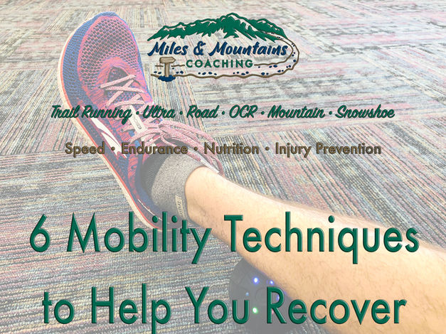 6 Mobility Techniques to Help You Recover