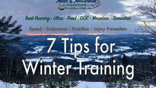 7 Tips for Winter Training