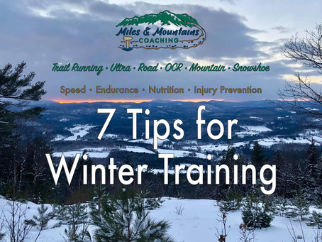 7 Tips for Winter Training