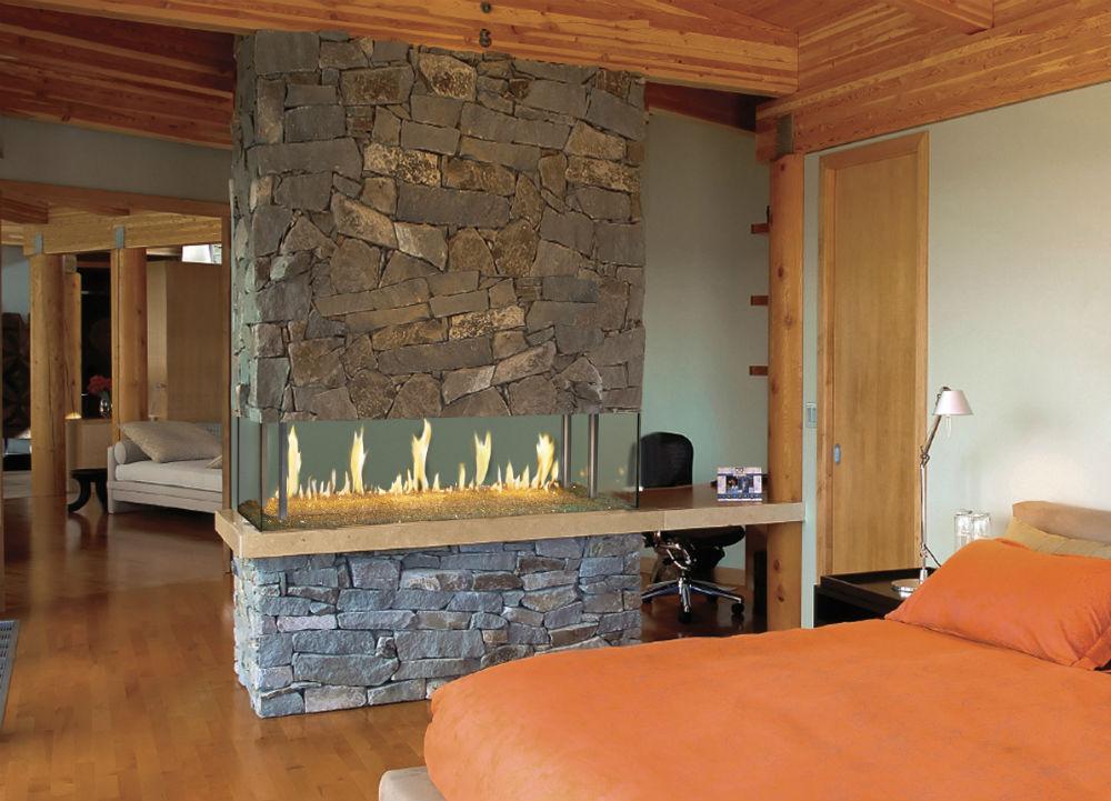 DaVinci Island Fireplace