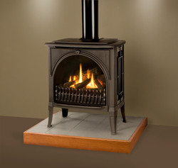 Valor Madrona with Black Finish