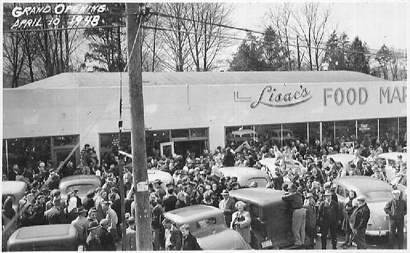 Lisacs Food Market Circa-1948