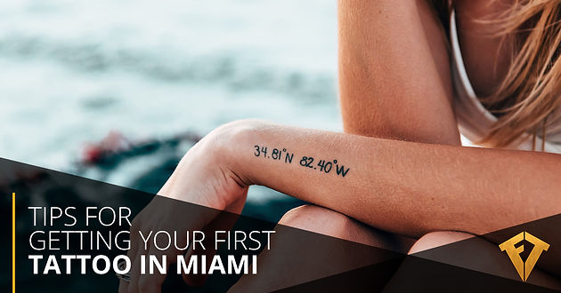 Tips For Getting Your First Tattoo In Miami | Fame Tattoos | Fame ...