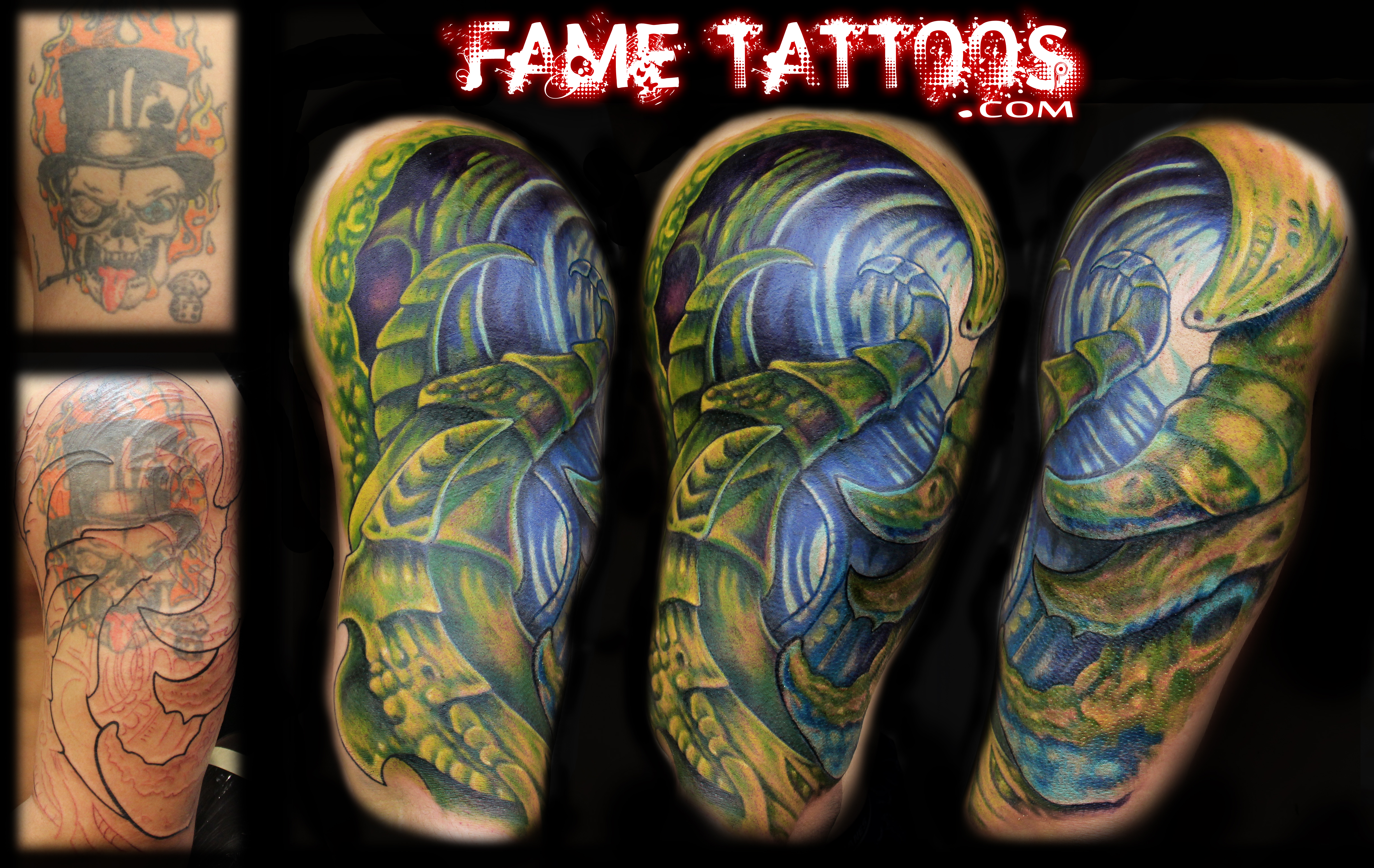 Fame Tattoos Miami S Best Tattoo Shop With The Best Tattoo Artist Bio Organic Cover Up Fame