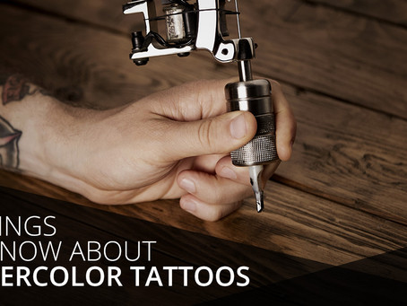 5 Things to Know About Watercolor Tattoos