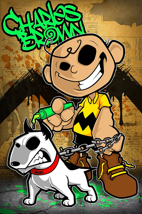CHARLES BROWN & SNOOPY by Ceelo