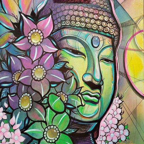 COLORFUL BUDDHA by Laz Rivera