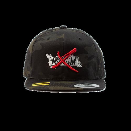 Multi Camo Silver RXM Snapback Hat