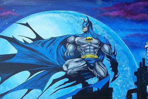 WATCHER BATMAN by Eddie Ponz