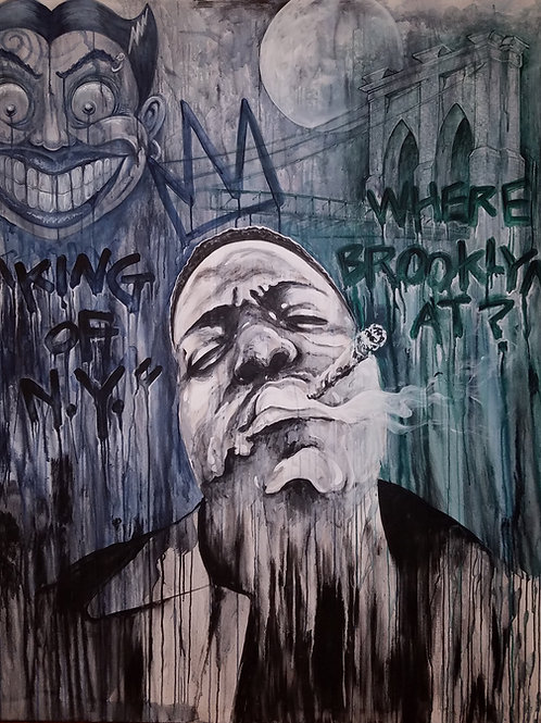 WHERE BROOKLYN AT? BIGGIE by Eddie Ponz
