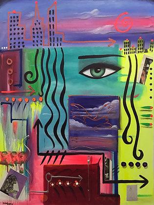 MIAMI TO NEW YORK by Michael Perez
