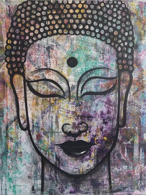 HAPPY BUDDHA by Cindy Franco