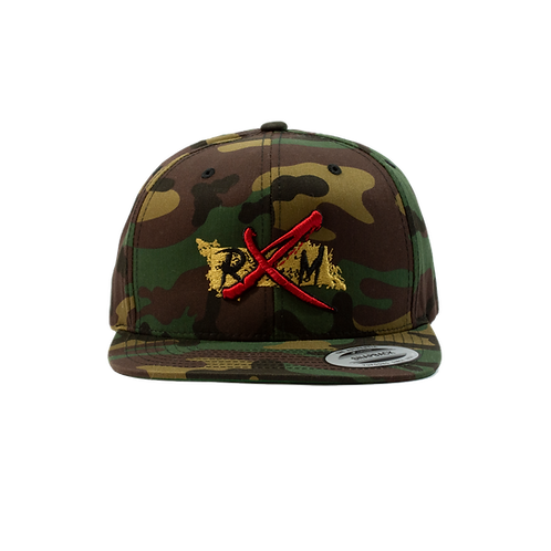 Traditional Camo Gold RXM Snapback Hat