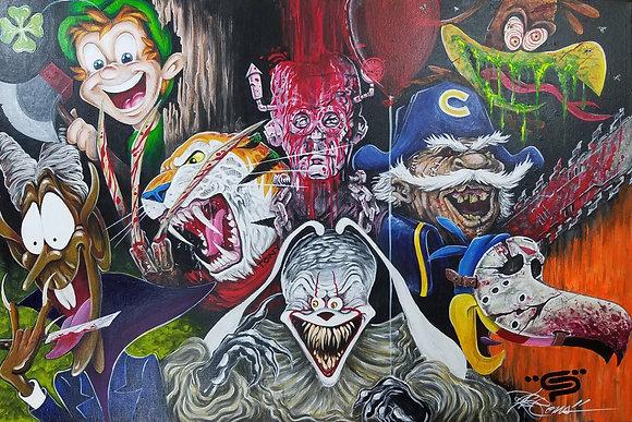 CEREAL KILLERS by Eddie Ponz