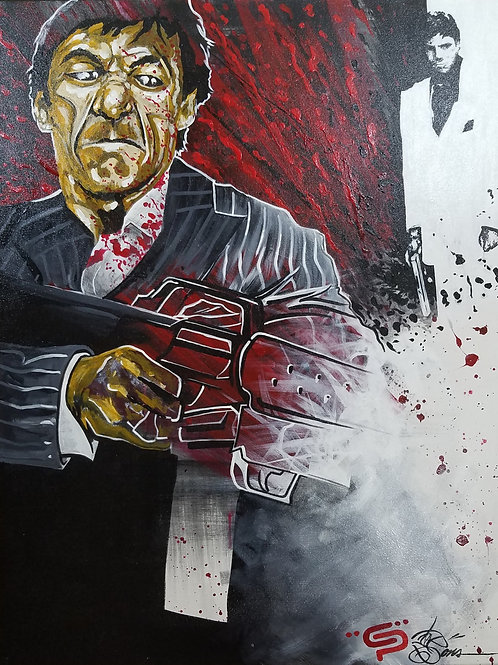 SAY GOODNIGHT TO THE BAD GUY SCARFACE by Eddie Ponz