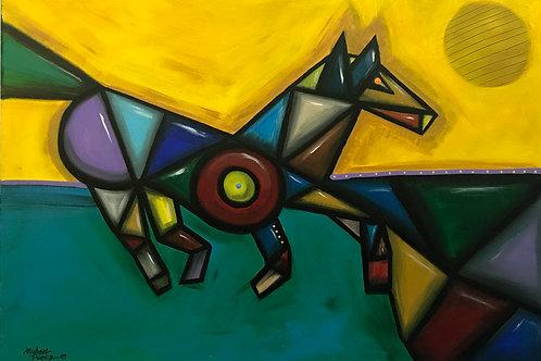 AZTECH SUNRISE by Michael Perez