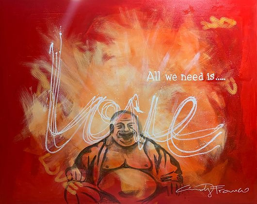ALL WE NEED IS LOVE by Cindy Franco