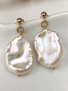 Cécile Earrings (14ct Gold filled)