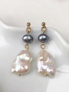Lilou Earrings (14ct Gold filled)