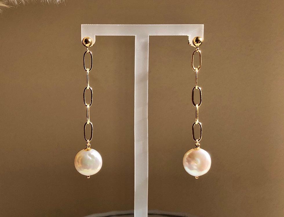 Allegra Earrings (gold filled)