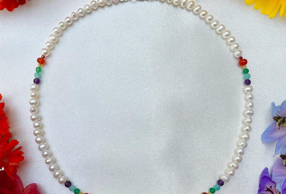 Magenta Necklace