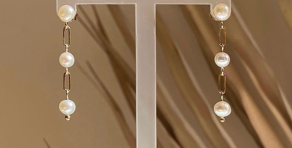 Zara Earrings (gold filled)
