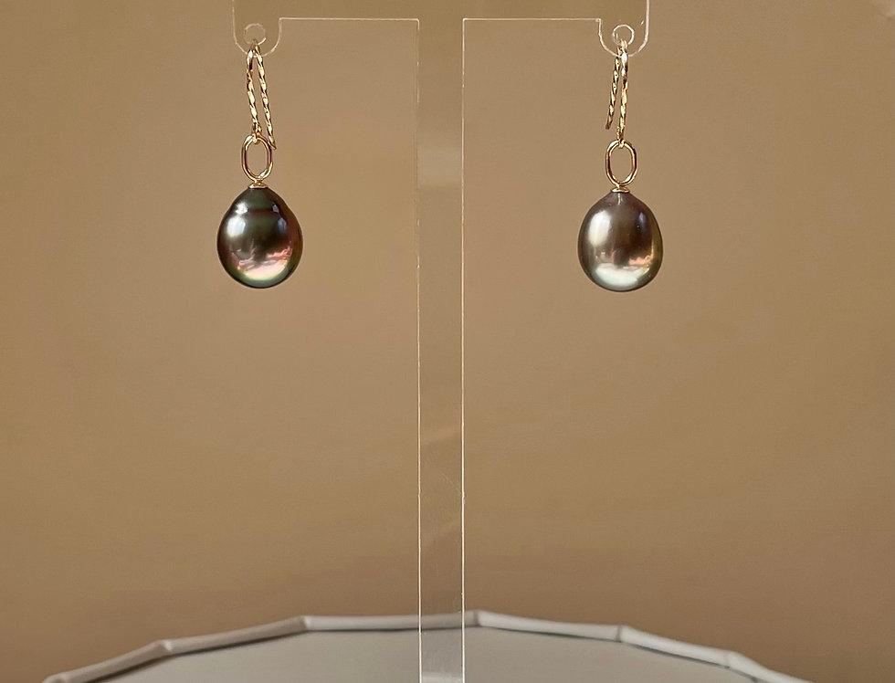 Raina Earrings - 9k gold