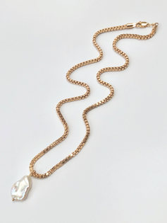Sienna Necklace (gold filled)