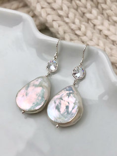 Élodie earrings (Sterling Silver)