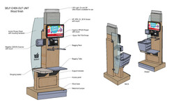 Shoppers Drug Mart - Self Check out Units Drawing-3