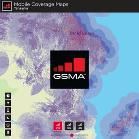 GSMA Mobile Coverage Maps