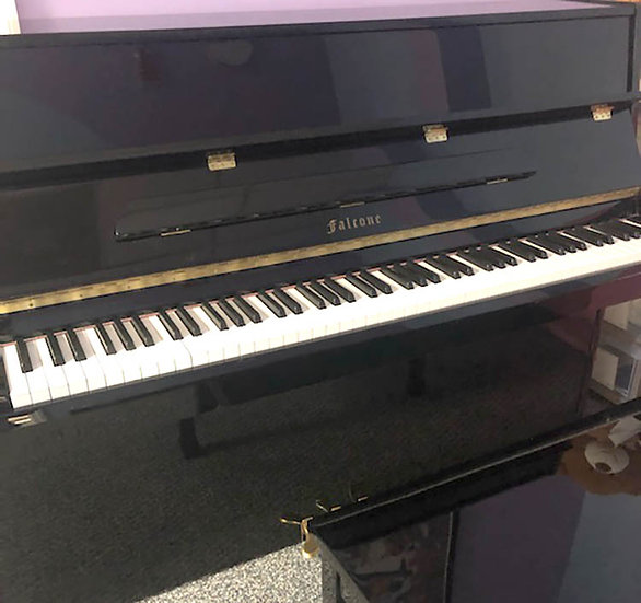 Falcone Console Piano Black Polish