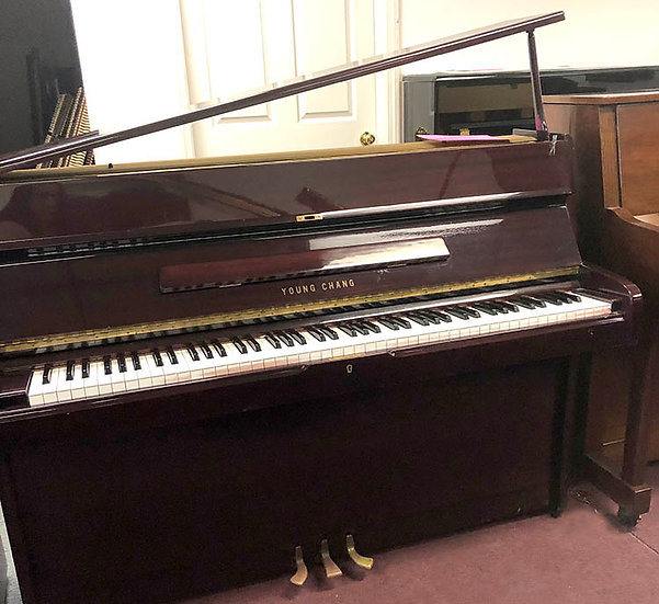 Young Chang Console Piano 107