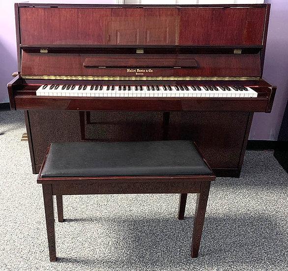 Hallet DavisContinentalStyle Upright Piano