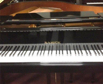 Samick 5'3 Baby Grand Piano Model 161