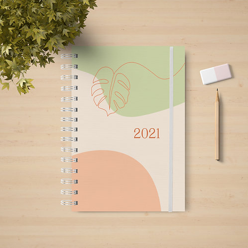Planner Life 2021 - Coleção Boho