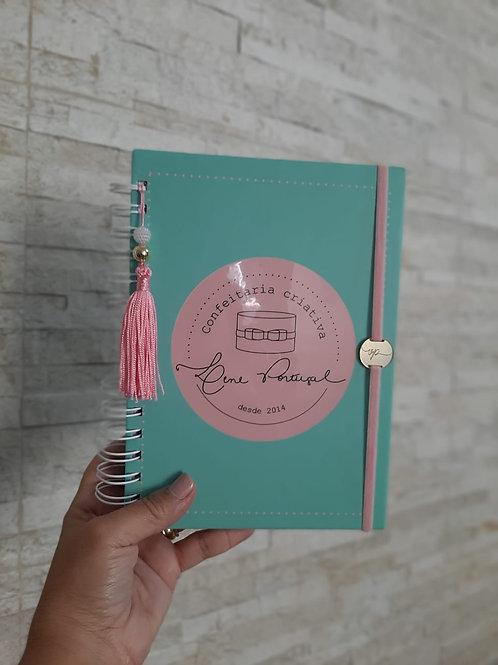 Caderno Pedidos Confeiteira