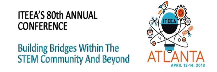 Evento anual de la ITEEA en Atlanta. Building bridges within the STEM community and beyound.