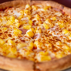 6. Canadian Bacon, Pineapple & Mozzarella
