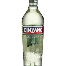 CINZANO DRY BOTTLE