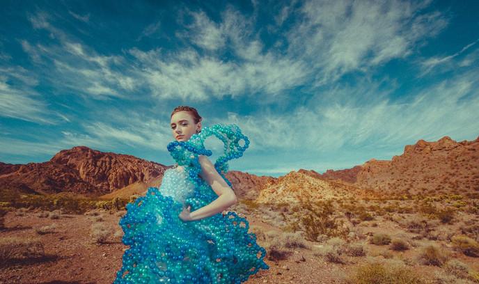 ラスベガス砂漠エリアの写真