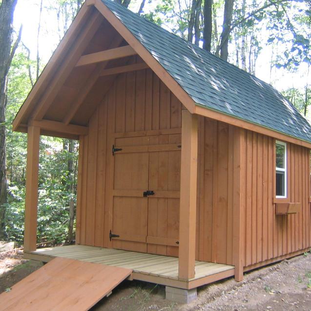12x16 High Cottage